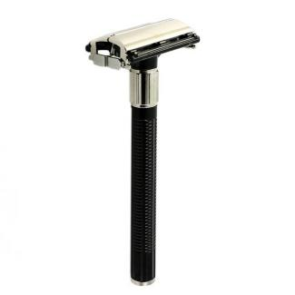 Safety Razor vlindersluiting + 2 mesjes